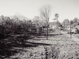 富士桜高原別荘地 分譲開始当時の様子