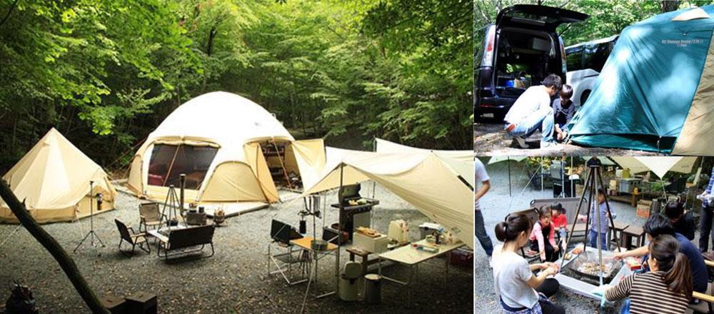 富士山の樹海!幻の湖『赤池』ほとりのキャンプ場 CAMP AKAIKE キャンプあかいけ 2018年シーズン営業開始!